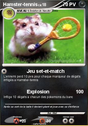 Créer sa carte Pokémon