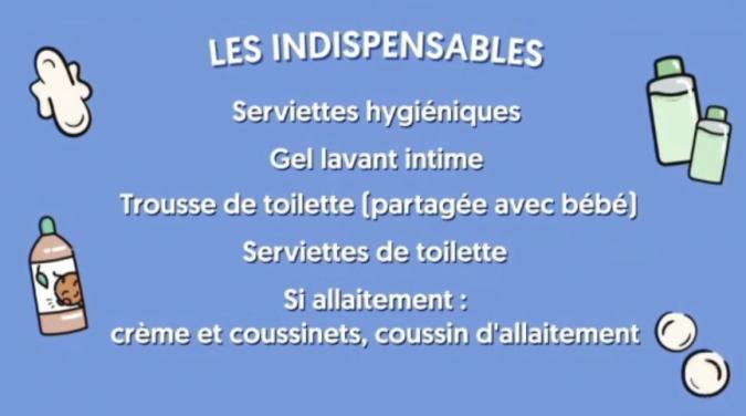 Indispensables hygiène