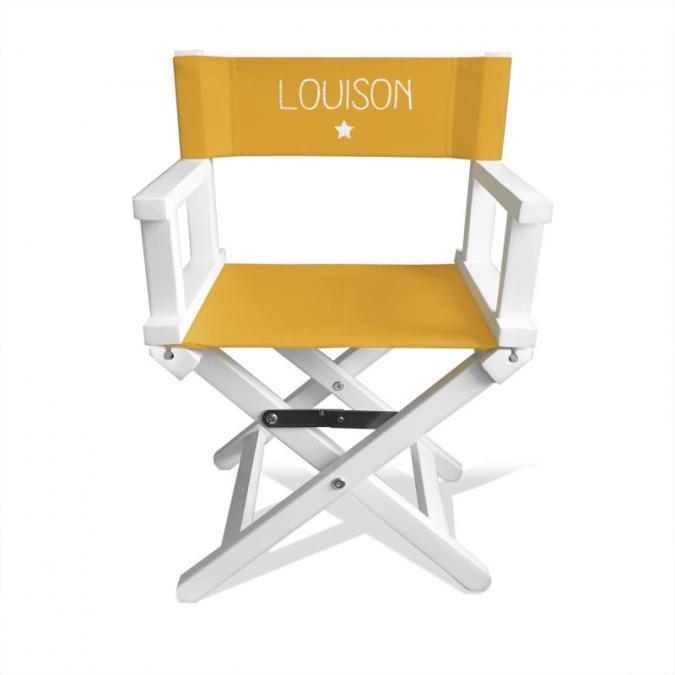 chaise réalisateur enfant